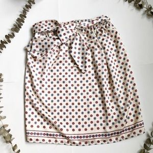 Tularosa Tie Front Floral Skirt✨